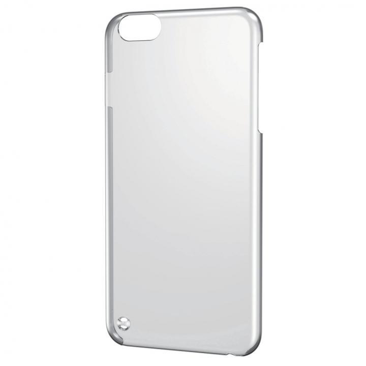 iPhone6 Plus ケース ストラップホール付きシェルカバー クリア iPhone 6 Plusケース_0