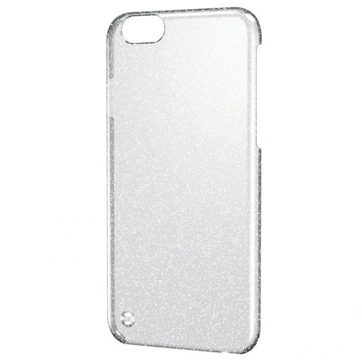シェルカバー ラメ クリア×シルバー(ラメ色はシルバー) iPhone 6ケース
