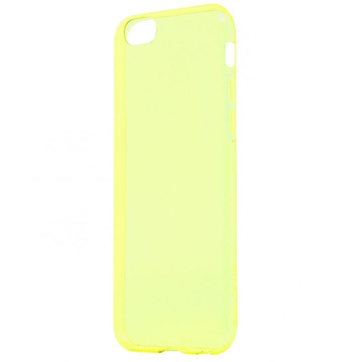iPhone6s ケース 極薄0.6mm TPUケース ZERO TPU イエロー iPhone 6s/6_0
