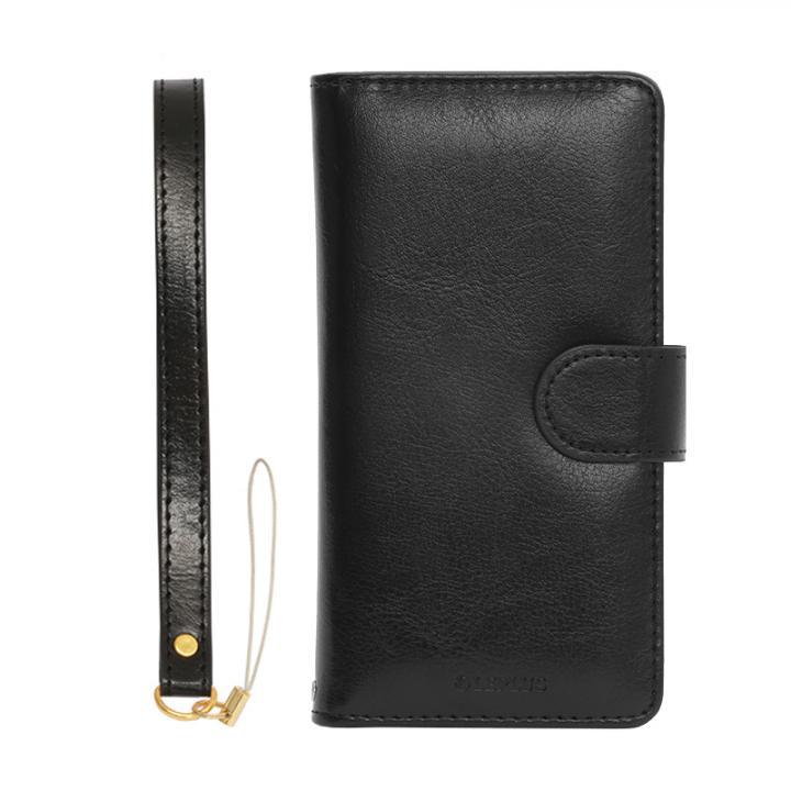 iPhone6s ケース PUレザー手帳型ケース BOOK A ブラック iPhone 6s/6_0
