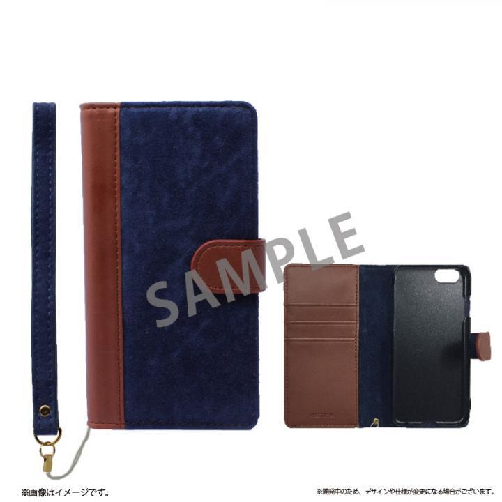 【iPhone6sケース】ファブリック手帳型ケース BOOK Fabric ハーバー(A) iPhone 6s/6_0
