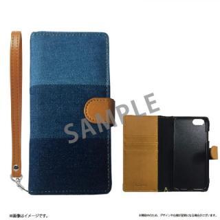 ファブリック手帳型ケース BOOK Fabric デニム(A) iPhone 6s/6