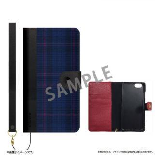 ファブリック手帳型ケース BOOK Fabric チェック(B) iPhone 6s/6