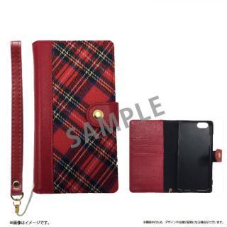 ファブリック手帳型ケース BOOK Fabric チェック(A) iPhone 6s/6