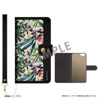 ファブリック手帳型ケース BOOK Fabric プランター(A) iPhone 6s/6