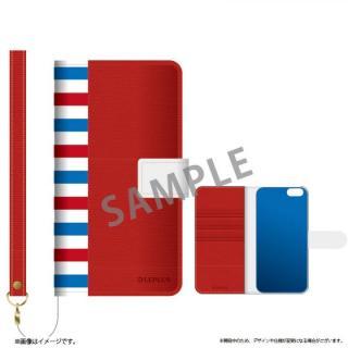 ファブリック手帳型ケース BOOK Fabric トリコロール(B) iPhone 6s/6