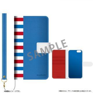 ファブリック手帳型ケース BOOK Fabric トリコロール(A) iPhone 6s/6