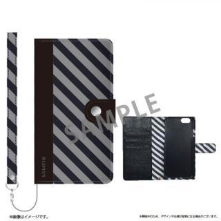 ファブリック手帳型ケース BOOK Fabric ストライプ(B) iPhone 6s/6