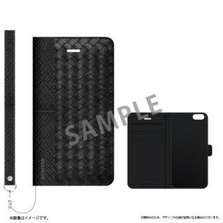 iPhone6s ケース 薄型ファブリック手帳型ケース PRIME Fabric ウェーブ(A) iPhone 6s/6