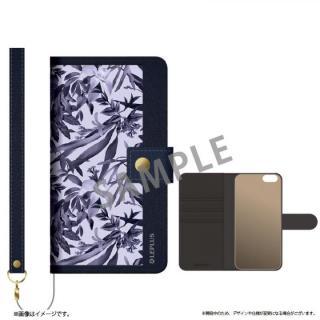 iPhone6s ケース ファブリック手帳型ケース BOOK Fabric プランター(B) iPhone 6s/6
