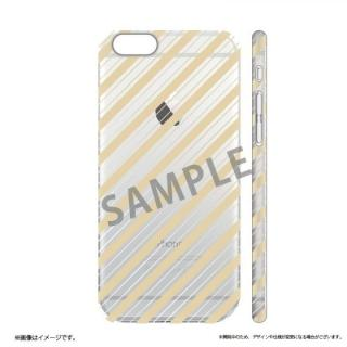 iPhone6s ケース メタルデザインハードケース Metal Design ストライプ柄 iPhone 6s/6