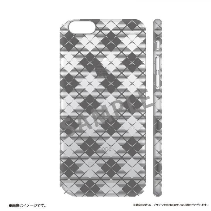 メタルデザインハードケース Metal Design タータンチェック柄 iPhone 6s/6