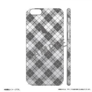 iPhone6s ケース メタルデザインハードケース Metal Design タータンチェック柄 iPhone 6s/6