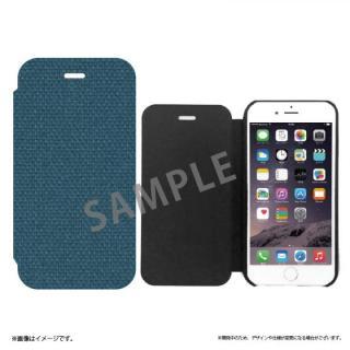 iPhone6s ケース 極薄手帳型レザーケース SLIM Fabric 帆布柄 iPhone 6s/6