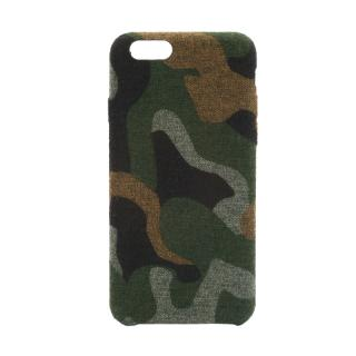 iPhone6s ケース ファブリックハードケース SLIM SHELL Fabric カモフラ柄 iPhone 6s/6