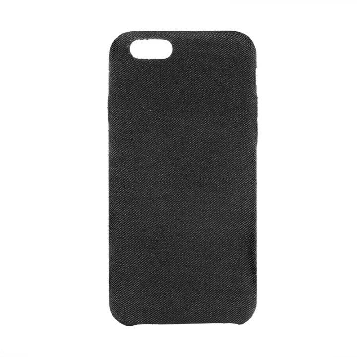 【iPhone6sケース】ファブリックハードケース SLIM SHELL Fabric デニム柄 iPhone 6s/6_0