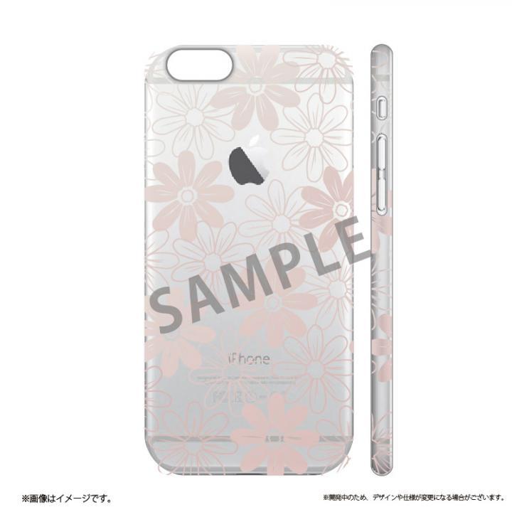 iPhone6s ケース メタルデザインハードケース Metal Design フラワー柄 iPhone 6s/6_0