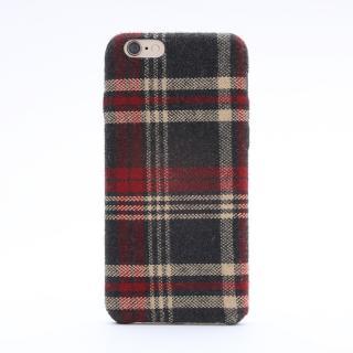 iPhone6s ケース ファブリックハードケース SLIM SHELL Fabric チェック柄 iPhone 6s/6