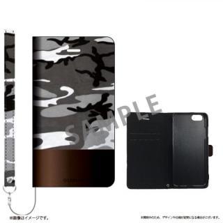 iPhone6s ケース 薄型ファブリック手帳型ケース PRIME Fabric カモフラージュ(B) iPhone 6s/6