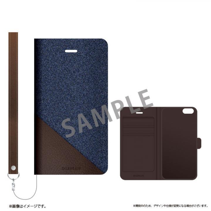 iPhone6s ケース 薄型ファブリック手帳型ケース PRIME Fabric スリットデニム(A) iPhone 6s/6_0