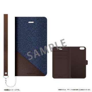 iPhone6s ケース 薄型ファブリック手帳型ケース PRIME Fabric スリットデニム(A) iPhone 6s/6