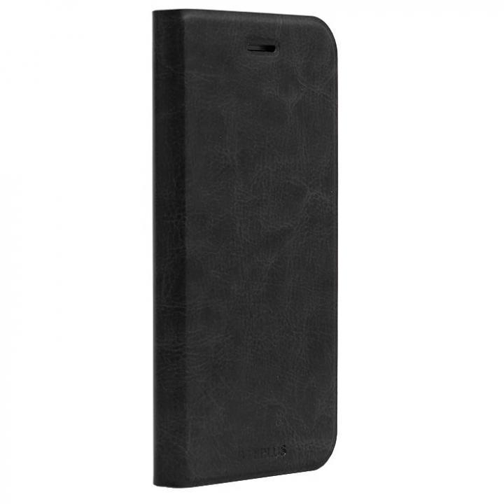 【iPhone6sケース】PUレザー手帳型ケース PRIME ブラック iPhone 6s/6_0