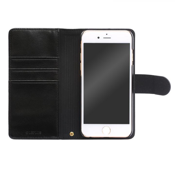 BOOK A PUレザー手帳型ケース ブラック iPhone 6s Plus/6 Plus