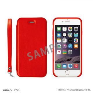 2WAY フリップ脱着型PUレザーケース レッド iPhone 6s Plus/6 Plus