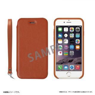 2WAY フリップ脱着型PUレザーケース ブラウン iPhone 6s Plus/6 Plus