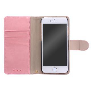 BOOK A PUレザー手帳型ケース ピンク iPhone 6s Plus/6 Plus