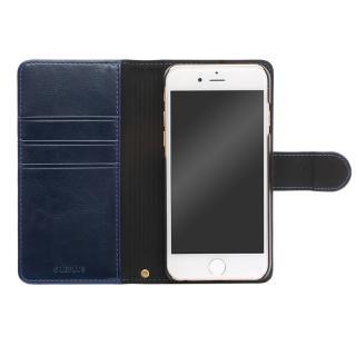 BOOK A PUレザー手帳型ケース ネイビー iPhone 6s Plus/6 Plus