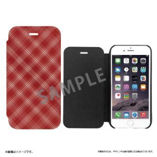 iPhone6s Plus ケース SLIM Fabric 極薄レザー手帳型ケース チェック柄 iPhone 6s Plus/6 Plus