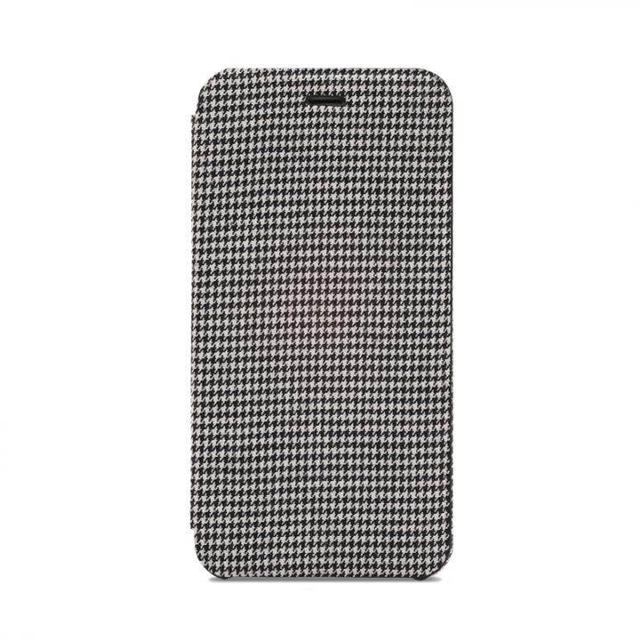 【iPhone6s Plusケース】SLIM Fabric 極薄レザー手帳型ケース 千鳥柄 iPhone 6s Plus/6 Plus_0