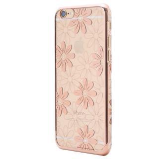 Metal Design メタルデザインハードケース フラワー柄 iPhone 6s Plus/6 Plus