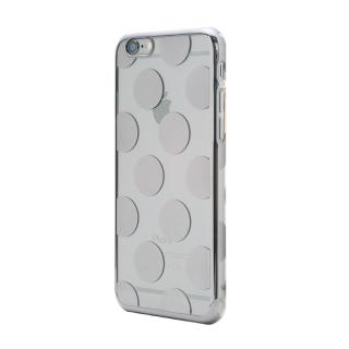 【iPhone6s Plusケース】Metal Design メタルデザインハードケース ドット柄 iPhone 6s Plus/6 Plus