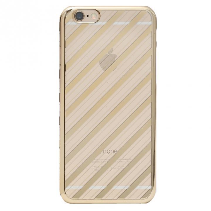 iPhone6s Plus ケース Metal Design メタルデザインハードケース ストライプ柄 iPhone 6s Plus/6 Plus_0