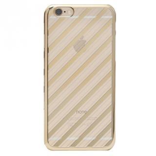 【iPhone6s Plusケース】Metal Design メタルデザインハードケース ストライプ柄 iPhone 6s Plus/6 Plus
