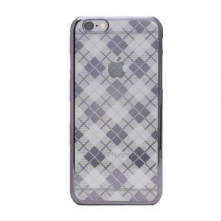 【iPhone6s Plusケース】Metal Design メタルデザインハードケース タータンチェック柄 iPhone 6s Plus/6 Plus