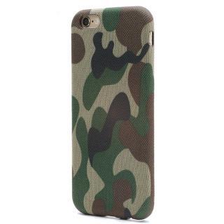 SLIM SHELL Fabric ファブリックハードケース カモフラ柄 iPhone 6s Plus/6 Plus