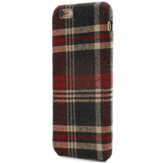 iPhone6s Plus ケース SLIM SHELL Fabric ファブリックハードケース チェック柄 iPhone 6s Plus/6 Plus