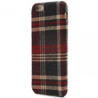 【iPhone6s Plusケース】SLIM SHELL Fabric ファブリックハードケース チェック柄 iPhone 6s Plus/6 Plus