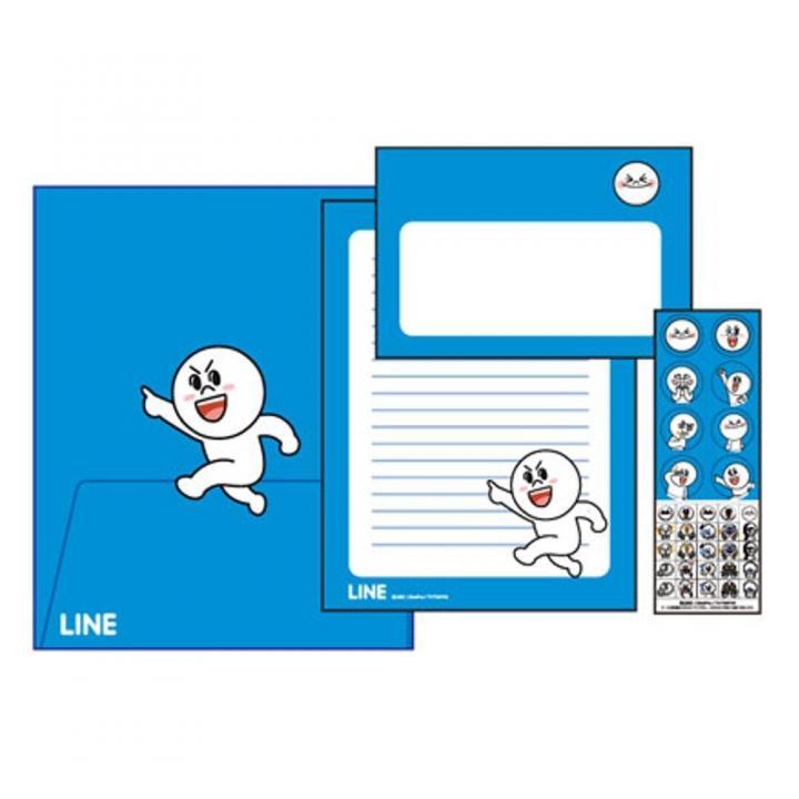 LINE クリアファイル入レター ムーン_0