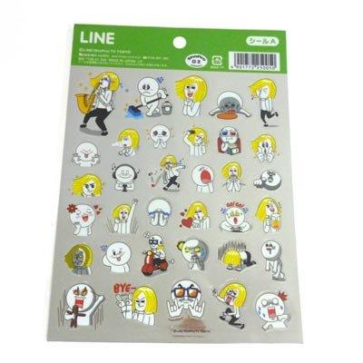 LINE シールA(ムーン&ジェームズ)