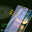 硬度9Hの強化ガラス 目に入るブルーライトを大幅カット/Van Anti-blue Ray iPhone XS/X