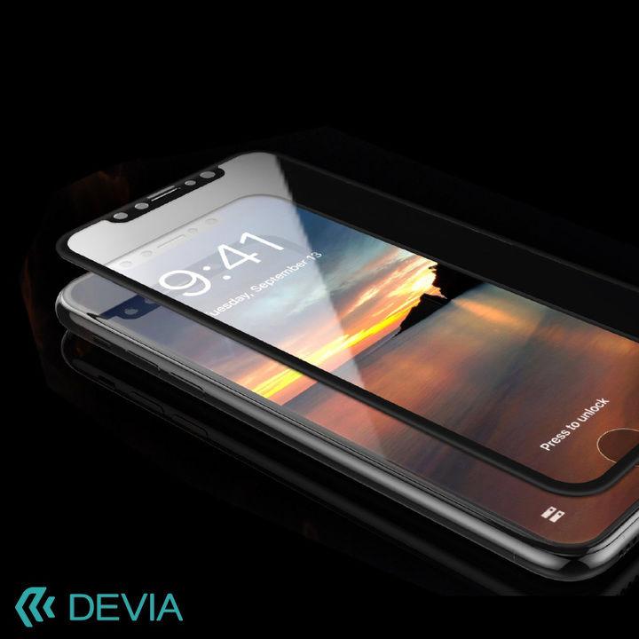 iPhone XS Max フィルム 硬度9Hの強化ガラス 目に入るブルーライトを大幅カット/Van Anti-blue Ray iPhone XS Max_0