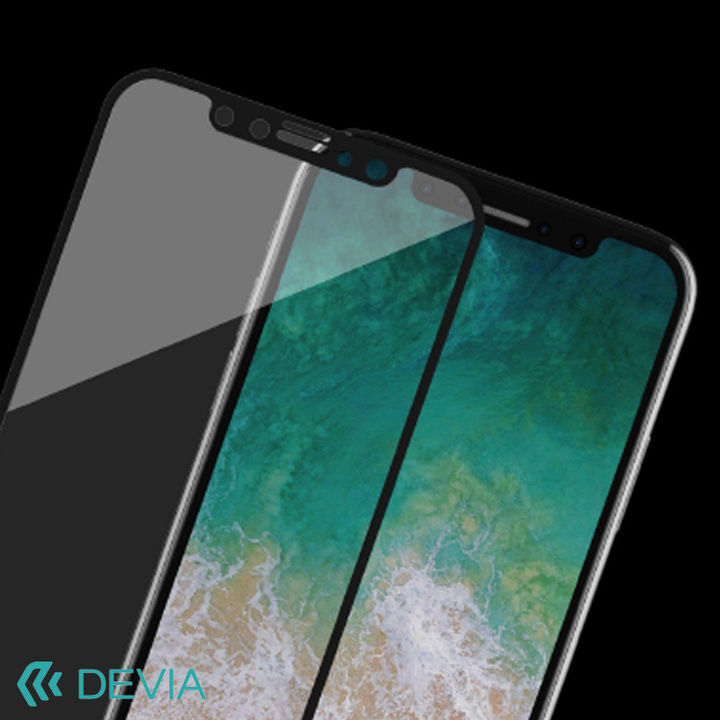 iPhone XS Max フィルム 硬度9Hの強化ガラス 横からの覗き見防止フィルター付き/Van Entire View Privacy iPhone XS Max_0