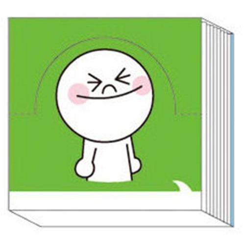 LINE ポップアップメモA(ムーン)_0
