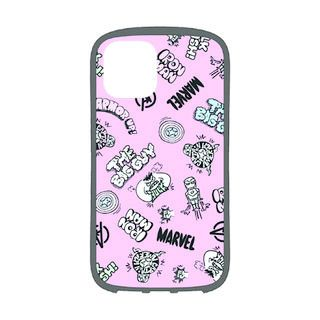 iPhone 11 Pro ケース MARVEL ハイブリッドタフケース アベンジャーズ/ピンク iPhone 11 Pro