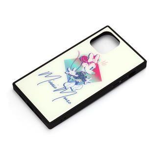 iPhone 11 Pro ケース ディズニー ガラスハイブリッドケース ミニーマウス iPhone 11 Pro