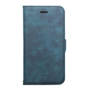 Style Natural PUレザー手帳型ケース  ブルー iPhone XR